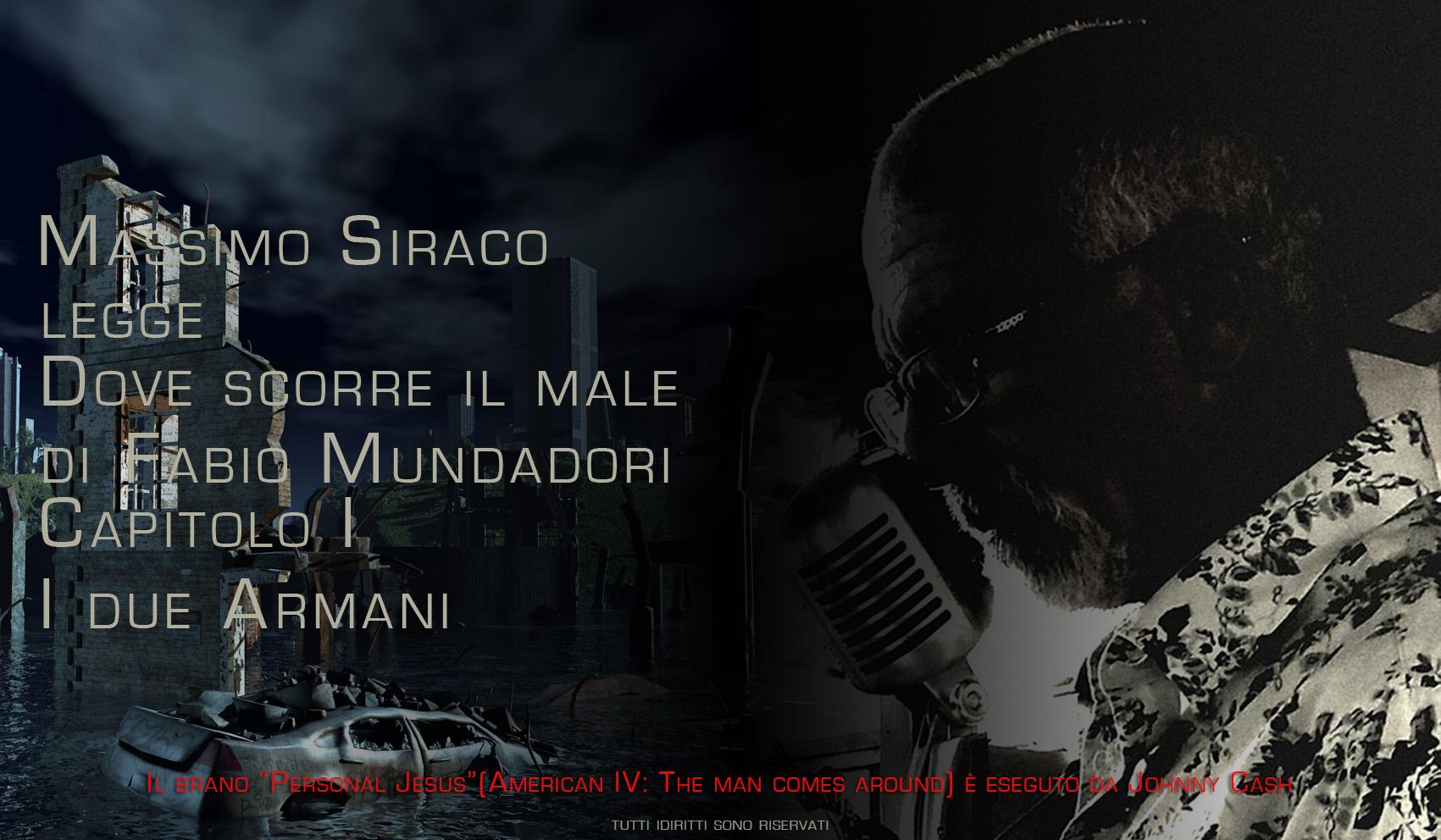 Massimo Siraco legge Dove scorre il male